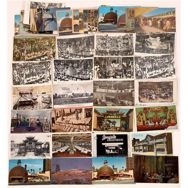 Los Angeles Restaurant Postcard Collection  [139089]