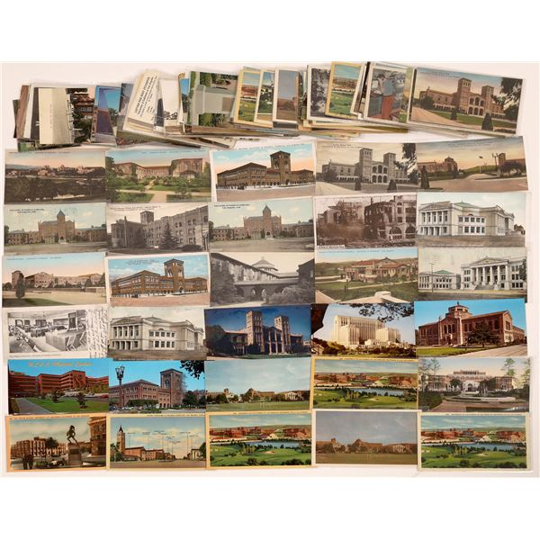 Los Angeles Schools and Universities Postcard Collection - Over 100 Cards  [139090]