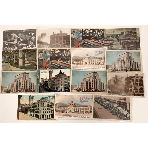 Los Angeles Times Postcard Collection  [139094]
