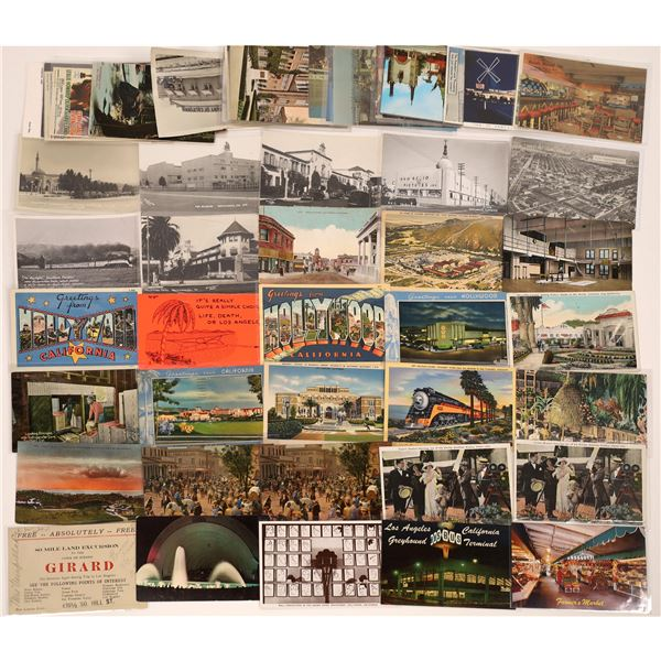 Los Angeles/Southern California Misc. Postcards w/Hollywood (54)  [139037]