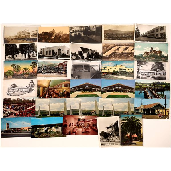 Central & Eastern Los Angeles County Post Card Collection (30)  [139038]