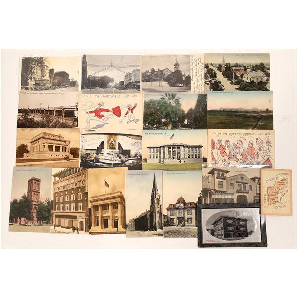Marysville Postcard Collection  [130301]
