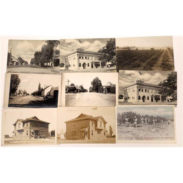 Maxwell, California Postcard Group  [130300]