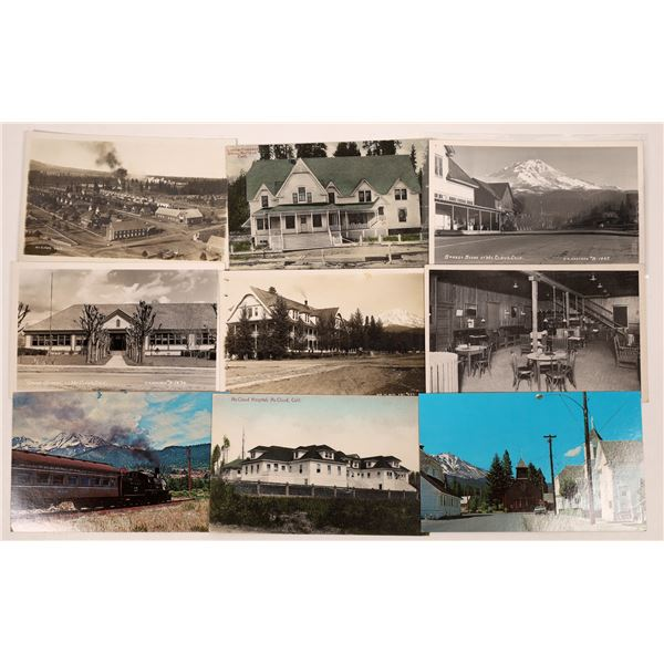 McCloud, Siskiyou County Postcard Group  [130299]