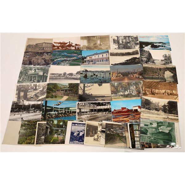 Mendocino County Postcard Collection  [130298]