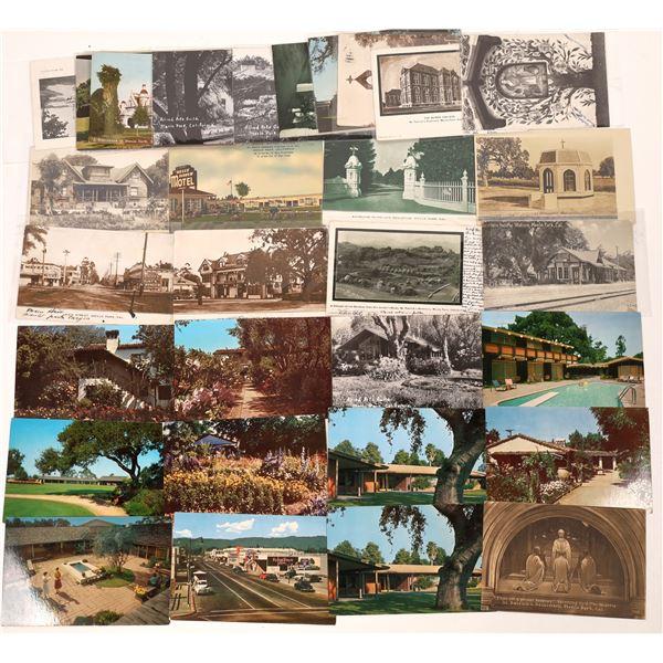 Menlo Park, California Postcard Collection  [130297]