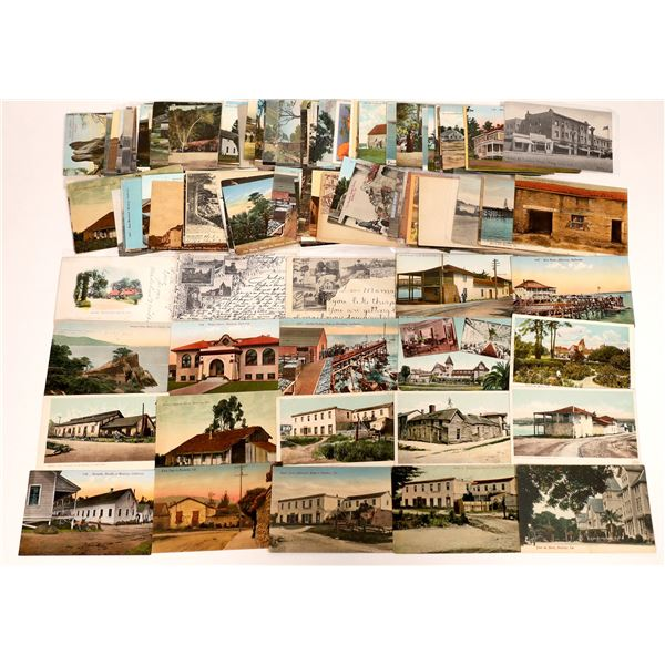 Monterey County Vintage Post Card Collection (approx. 140 pieces)  [138219]