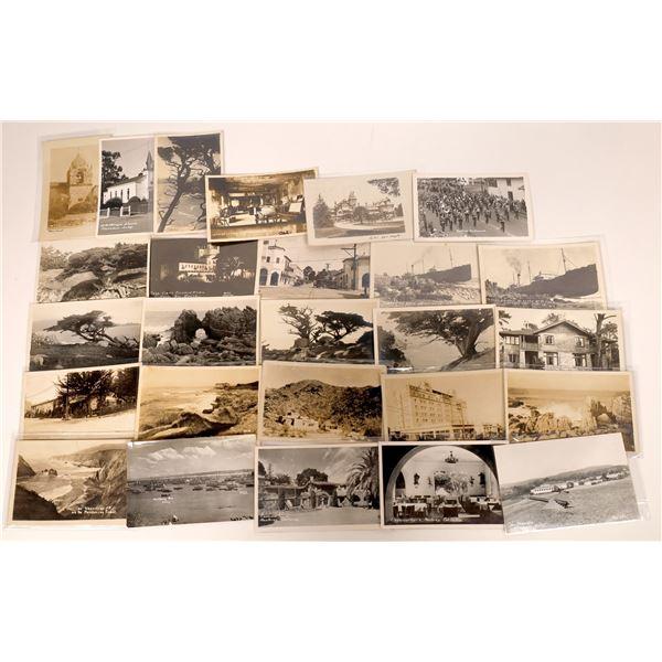 Monterey County White Border RPCs Post Card Collection (26 pieces)  [138218]