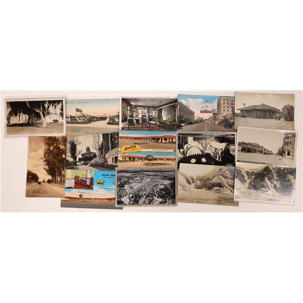 Monterey County (Salinas, Inland, King City) Postcard Collection  [130316]