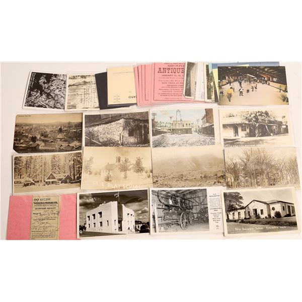 Mother Lode Postcard and Wells Fargo Collection  [130412]
