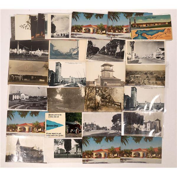 Mountain View, California Postcard Collection  [130295]