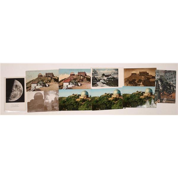 Lick Observatory Postcard Group  [130292]