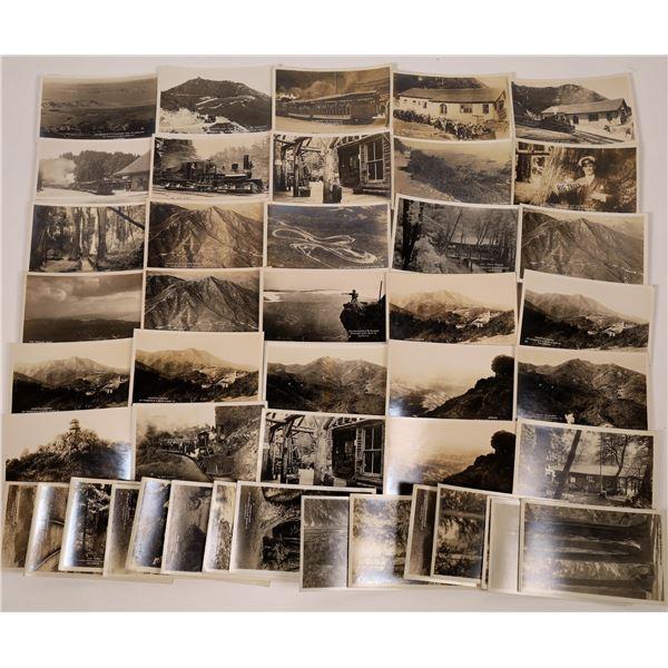 Mt Tamalpais / Muir Woods Real Photo Postcard Collection  [130291]