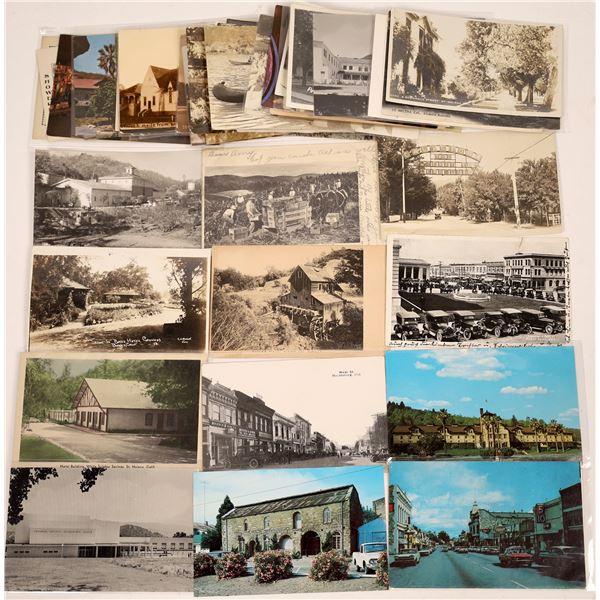 Napa Sonoma Postcard Collection  [130443]