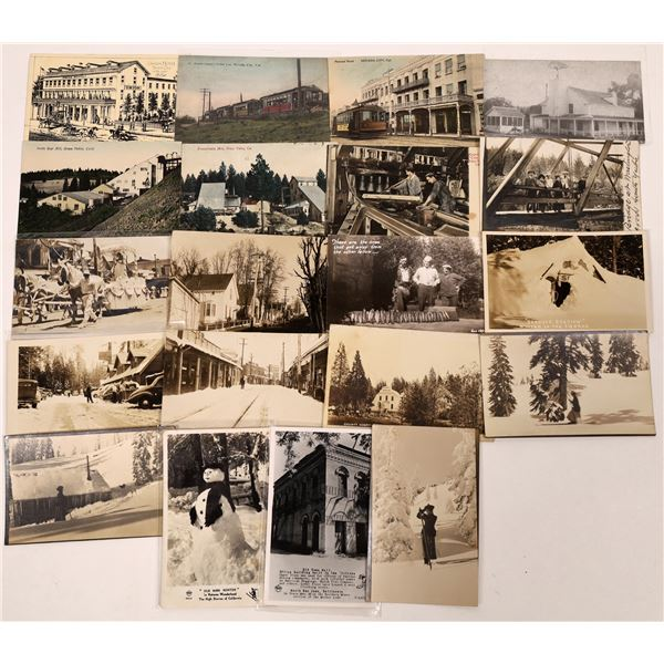 Nevada City / Sierra County Postcard Collection  [130289]