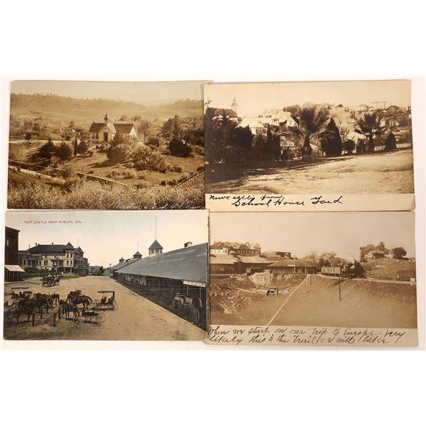 Newcastle, California Postcard Group  [130306]