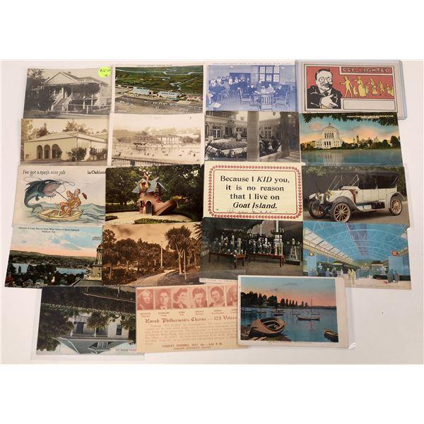 Oakland, California Postcard Collection  [130287]