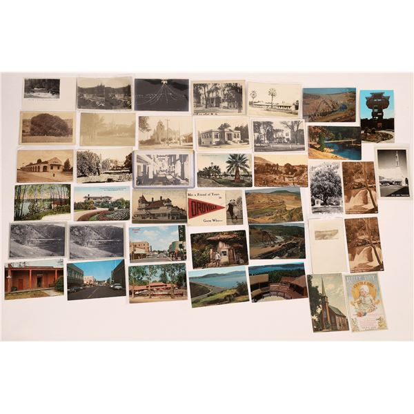 Oroville Post Card Collection (40 pieces)  [138224]