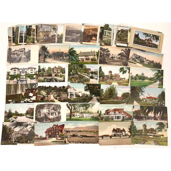 Postcard Collection of Pasadena: Older Homes  [139856]