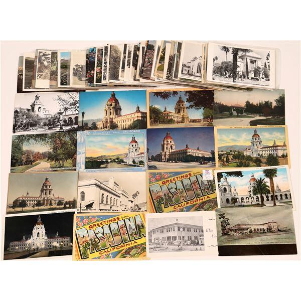 Postcard Collection: Pasadena Rose Parade/City Hall/Churches  [139960]
