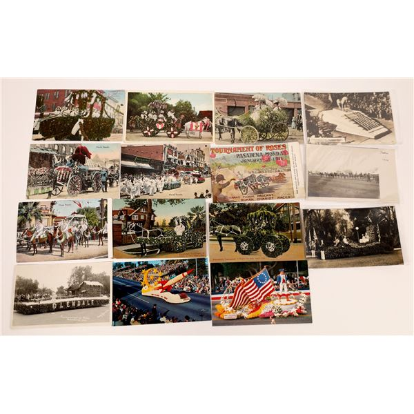 Tournament of Roses Parade Post Card Collection (14 pieces)  [138230]