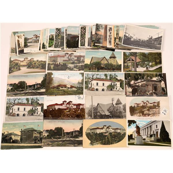 Postcard Collection from South Pasadena San Marino Huntington Estate  [139868]
