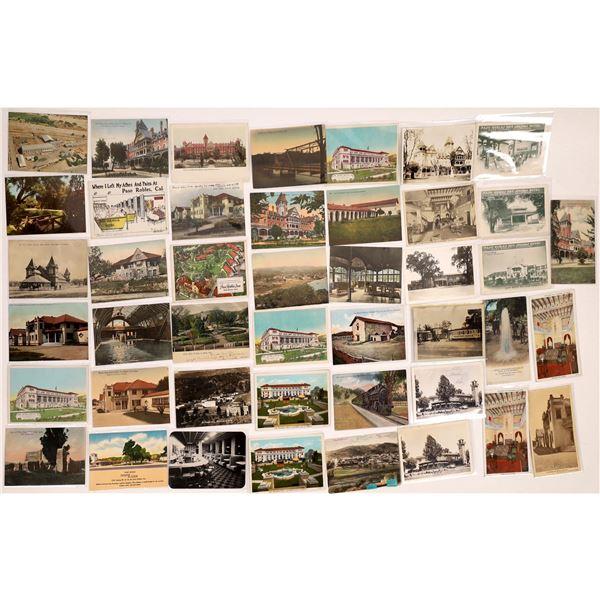 Paso Robles - Atascadero Vintage Post Card Collection (44 pieces)  [138225]