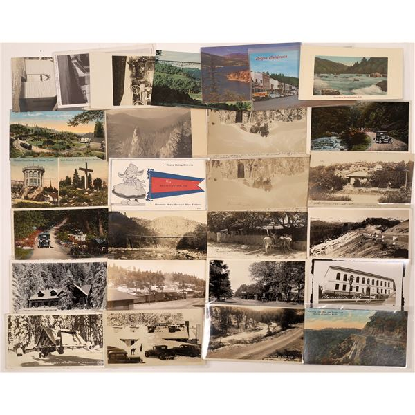 Placer County, California Postcard Collection  [130305]