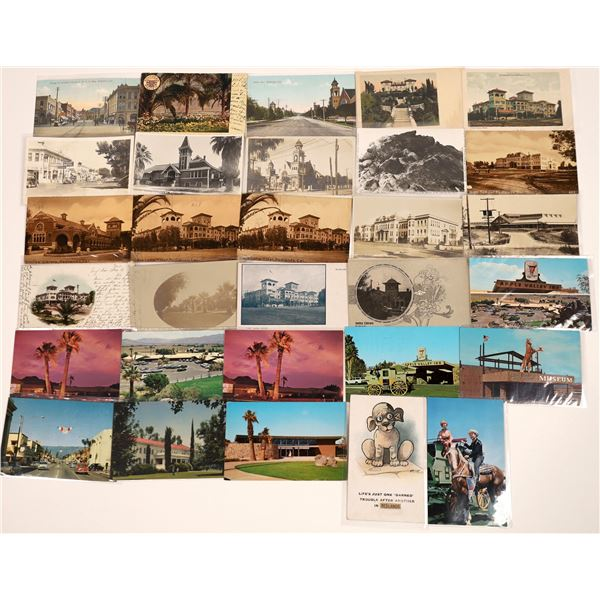 Redlands/Apple Valley/Victorville, CA Post Card Collection (29)  [139034]