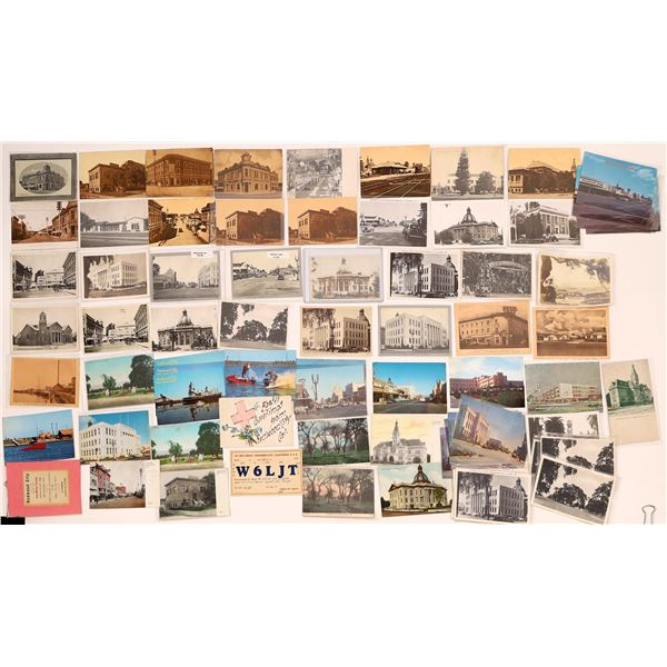 Redwood City Post Card Collection (approx. 65 pieces)  [138226]