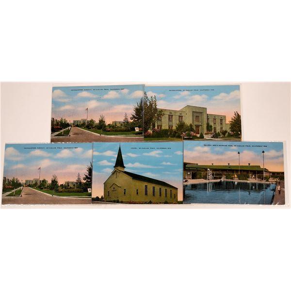 Sacramento McClellan Field Set of Postcards  [130384]