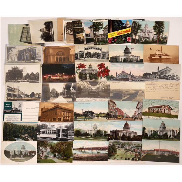 Sacramento & Davis Postcard Collection  [130314]