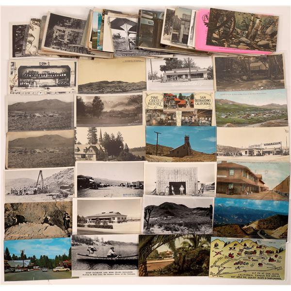 San Bernardino County Postcard Collection  [130356]