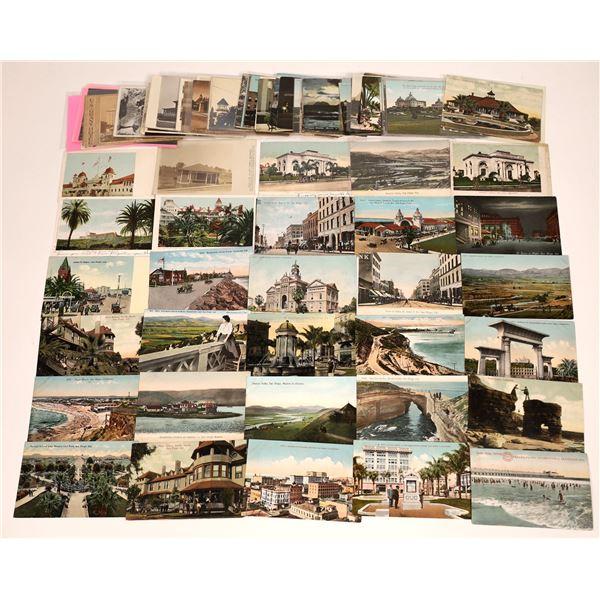 San Diego & Coronado, CA Older Post Card Collection (95)  [138719]