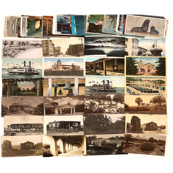 San Diego, CA Missions, Ships, Zoo Animals, Other Post Card Collection (78)  [139033]