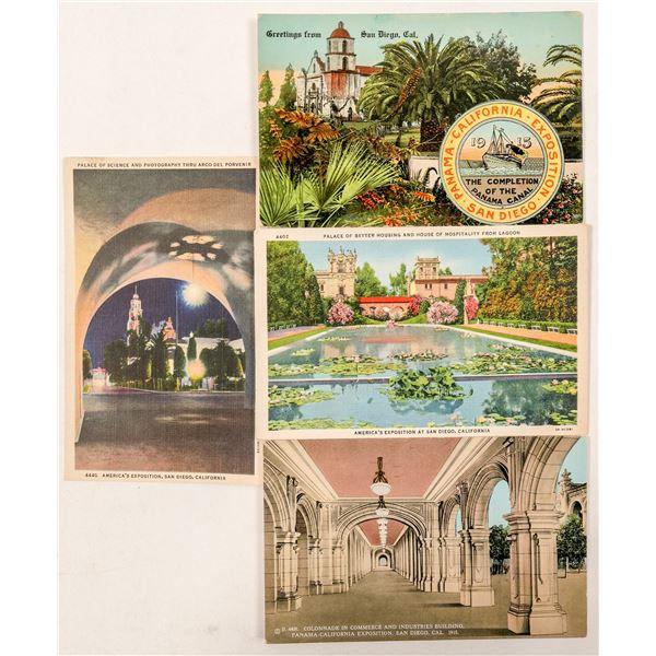 Pan-Cal Expo Postcards  [138172]
