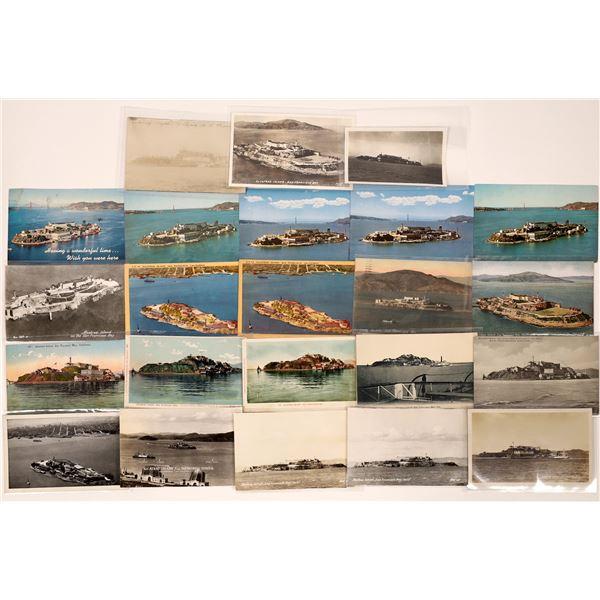 Alcatraz Island/Prison, San Francisco Bay Post Card Collection (23)  [138714]
