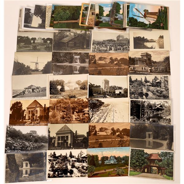 Golden Gate Park Post Card Collection (70)  [139043]