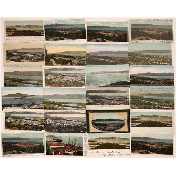 Presidio Birds Eye View Postcard Collection  [130366]