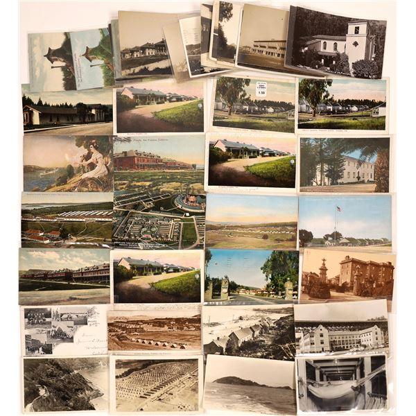 Presidio, San Francisco Postcard Collection: barracks, quarters, daily life  [130368]