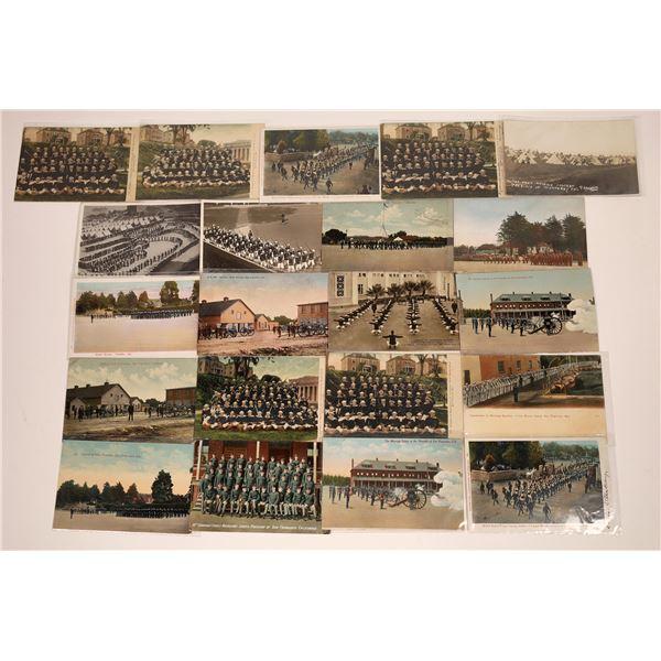 San Francisco and Monterey Presidio Postcard Maneuvers Collection  [130365]
