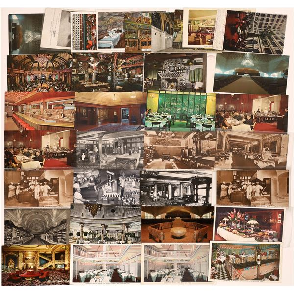 San Francisco Building and Restaurant Interior Postcard Collection  [130352]