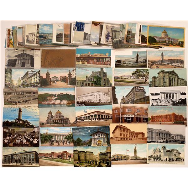 San Francisco Buildings Postcard Collection  [130377]