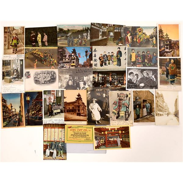 San Francisco Chinese Postcard Collection  [130355]