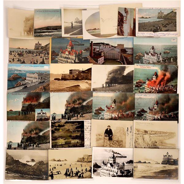 San Francisco Cliff House Postcard Collection  [130388]