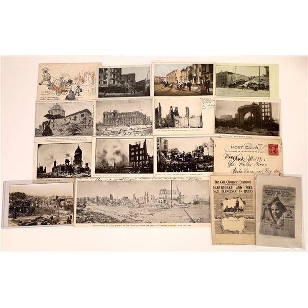 San Francisco Earthquake Postcard Collection  [130387]