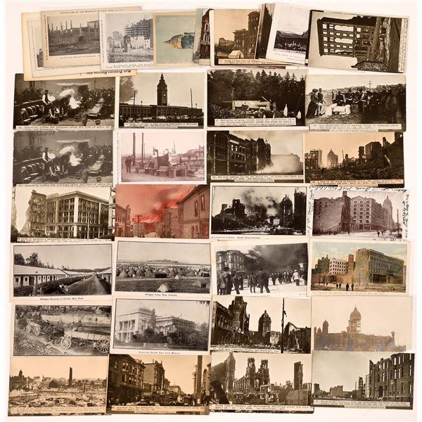 1906 San Francisco Earthquake Postcard Collection  [130358]