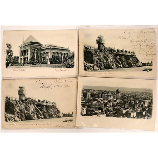 San Francisco Extremely Rare Die Cut Pioneer Cards  [130378]