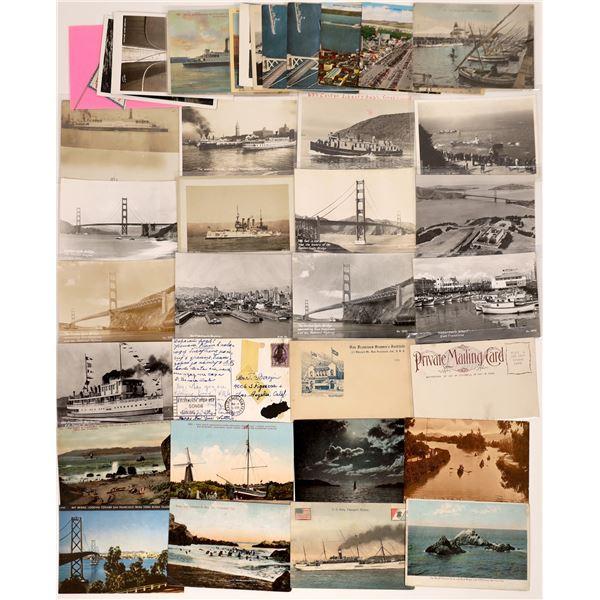 San Francisco Harbor Postcard Collection  [130379]