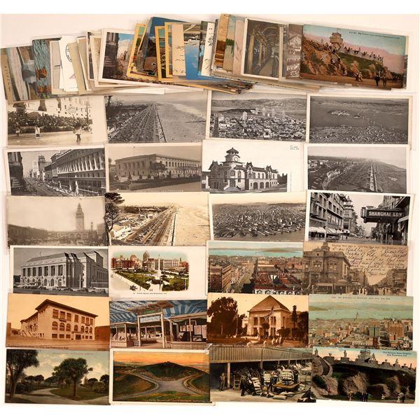 San Francisco Huge Postcard Collection  [130376]
